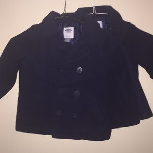 Navy blue Coats in great condition.